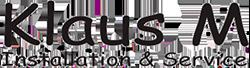 Klaus M logo